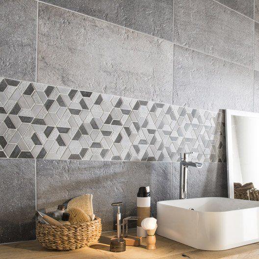 mosaique_sol_et_mur_graphik_hexa_noir salle de bain faidherbe