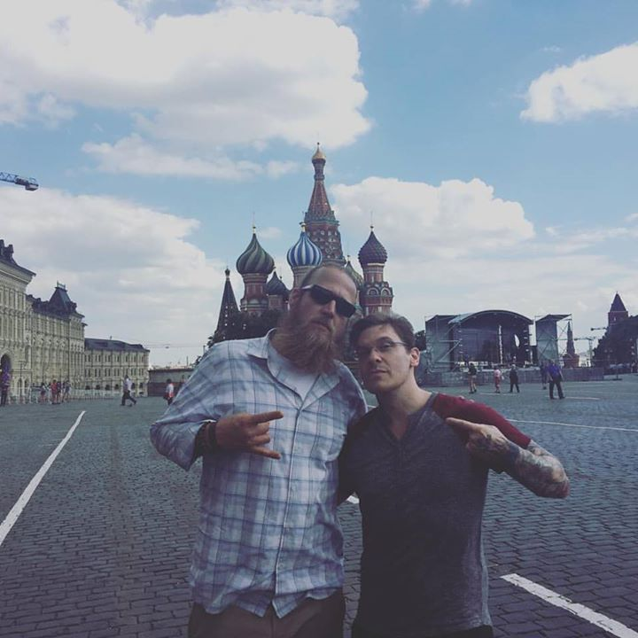 #Repost @shinedown: @thebrentsmith iIt is beyond an honor to share these moments in time with this great man @bjakelawson #russia #BrentSmith #Shinedown - facebook.com/ShinedownsNation