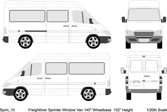 Design Vehicle Template