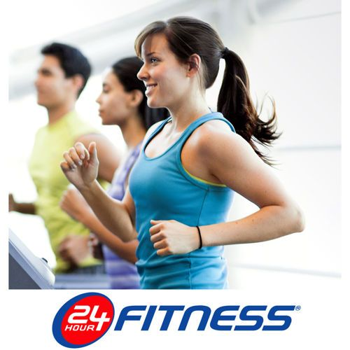 24 Hour Fitness 2-year ALL-CLUB SPORT Membership Certificate 2015 - 40 pounds