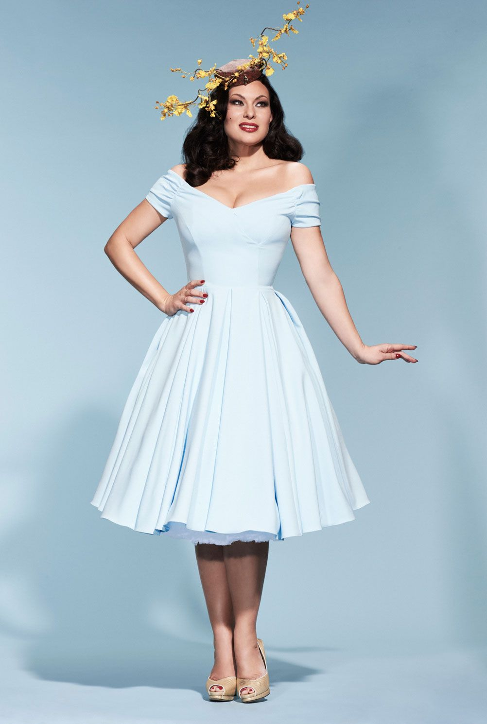 Fatale Ice Blue Prom Dress | The Pretty Dress Company light blue ...