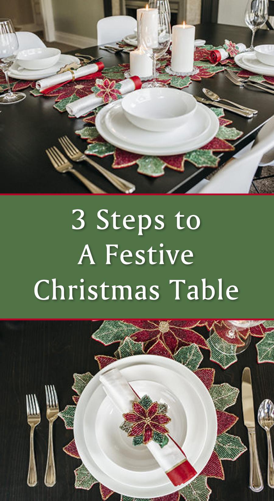 great tips for my christmas table bed bath and beyond christmas christmasdecor holidaydinner diningtable xmas affiliate