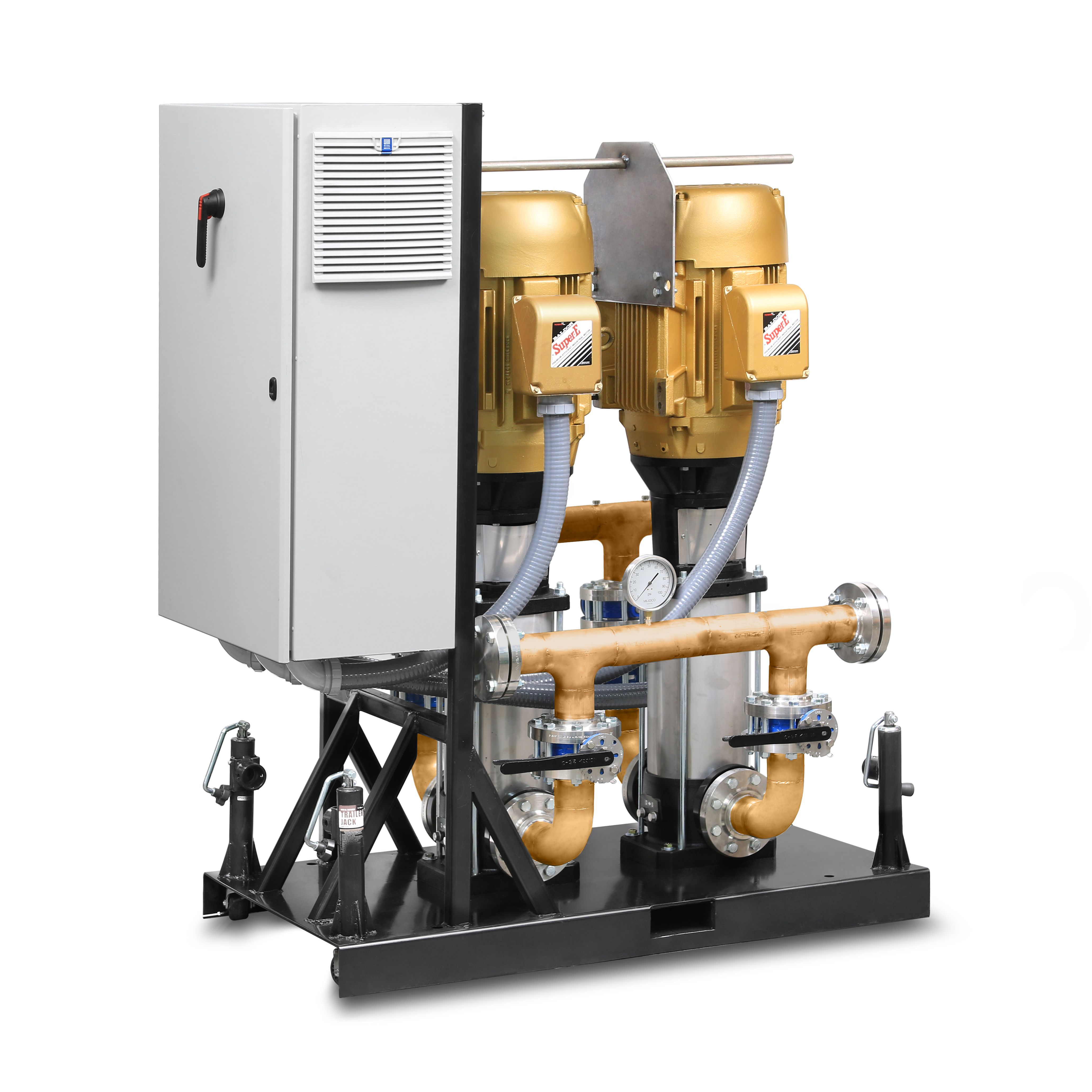 Domestic Water Pressure Booster Pumps And Systems Nyc Pumps