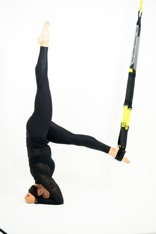 Struggling with Yoga Poses? Grab Your TRX Suspension TRainer
