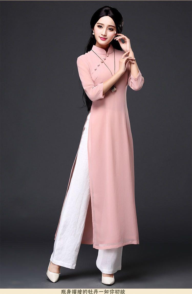 34+ Ao dai dress info