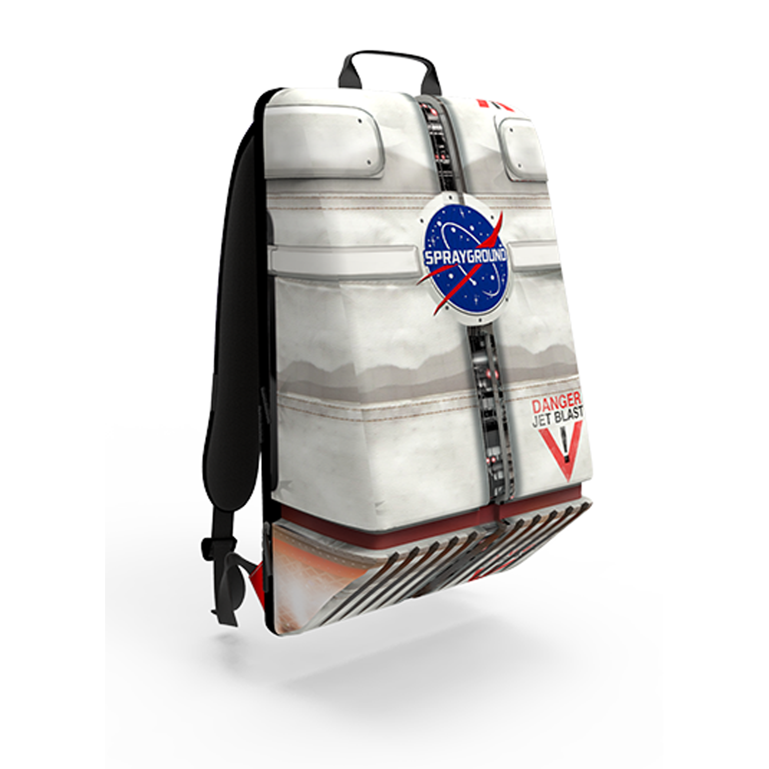 5fd9093f SPRAYGROUND NASA Jetpack Backpack | White #SPRAYGROUND #vampsnyc # NewArrivals