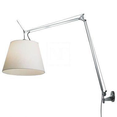 Artemide Tolomeo Mega Wall Lamp Wall Lamp Lamp Artemide Lighting