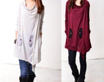 SALE Rain embroidered cotton linen dress Q1003 por idea2lifestyle
