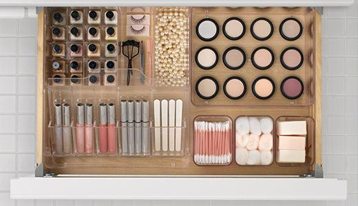 Furniture And Home Furnishings Makeup Storage