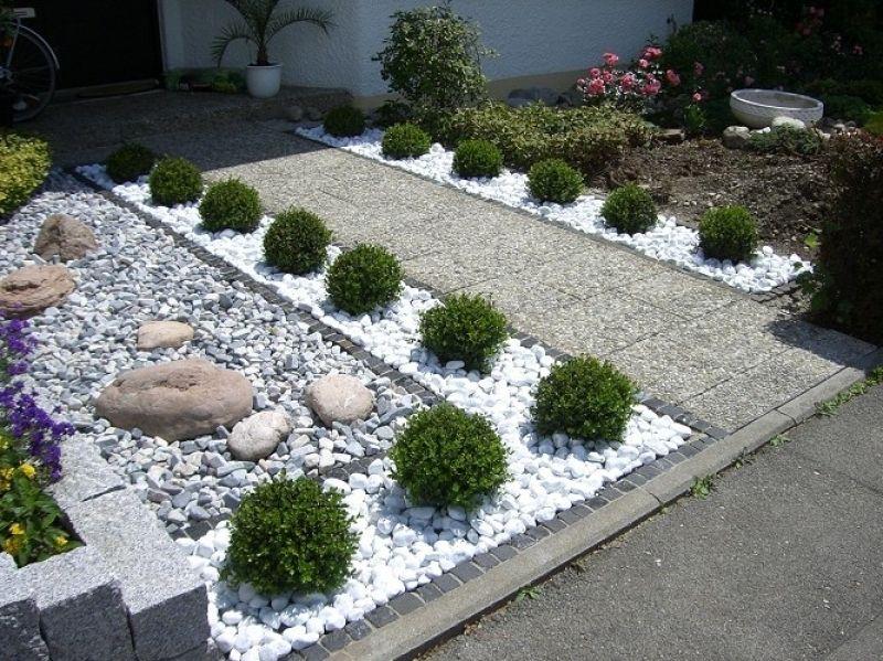 vorgarten gestalten modern – igelscout, Gartenarbeit ideen