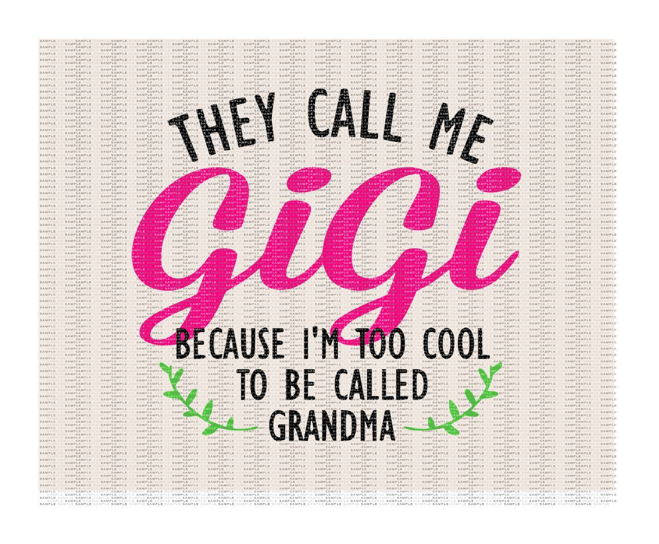 Transparent PNG Studio3 My Greatest Blessings Call Me Nana Silhouette Scan N Cut SVG Cricut