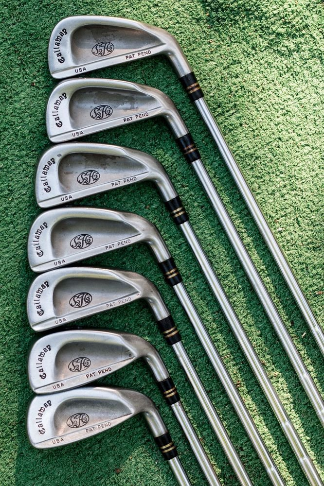 Callaway S2h2 Iron Set 3456789 Irons Used Golf Clubs