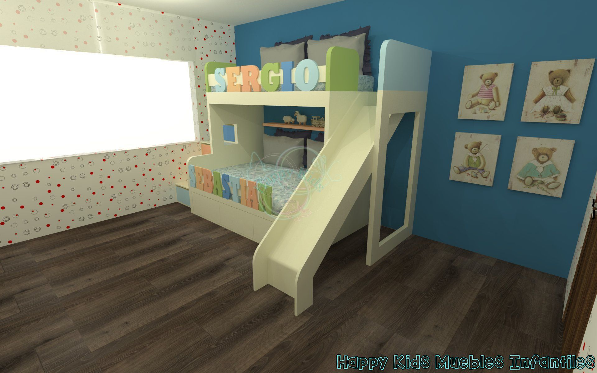 Pin by Happy Kids Muebles on Proyecto Jardín Real | Pinterest