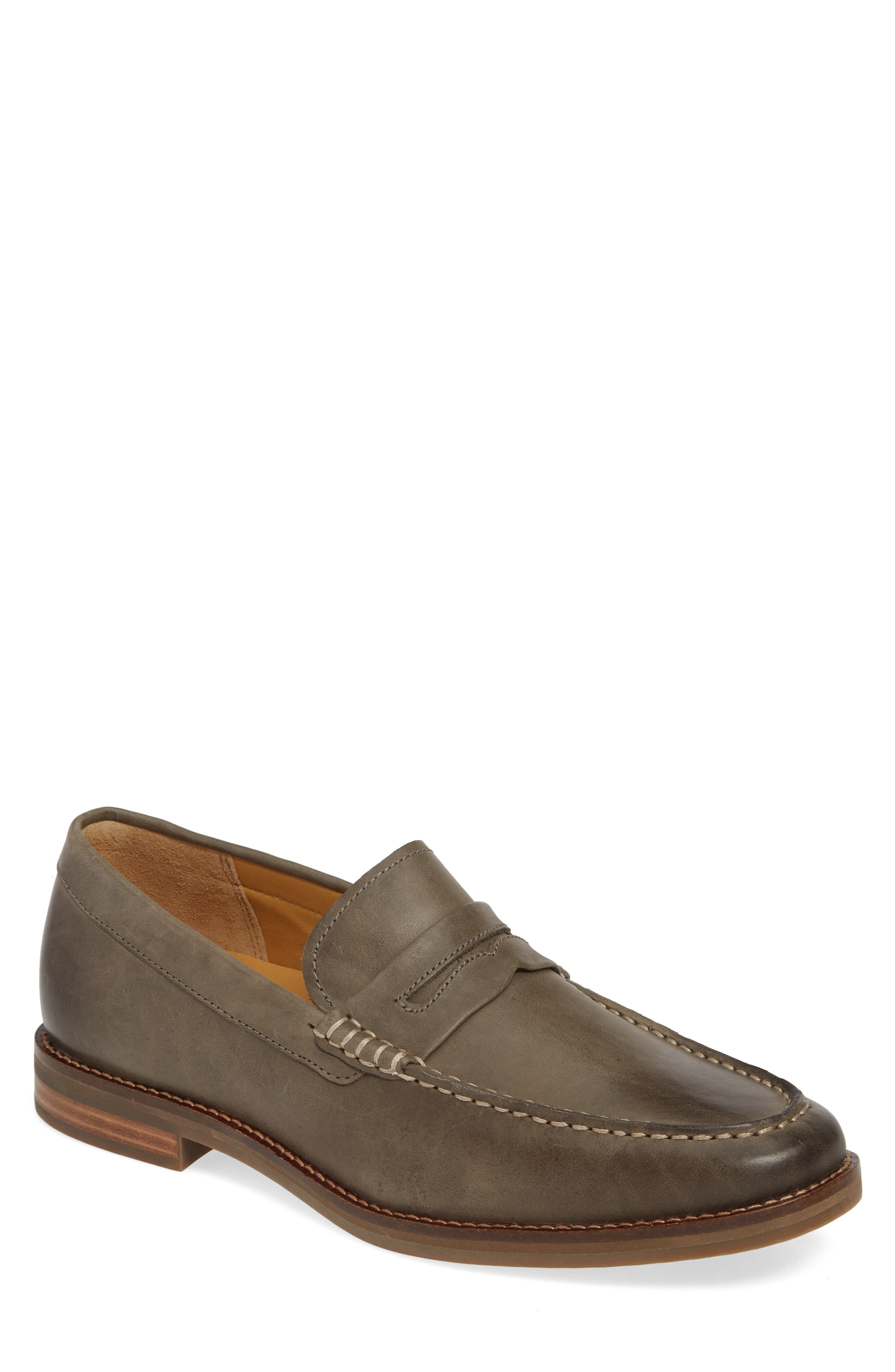 7b357e2350f5e Men's Sperry Exeter Penny Loafer, Size 7.5 M - Grey in 2019 ...