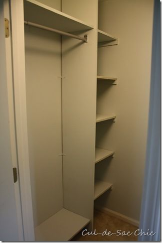 Closet Makeover With One Sheet Of MDF