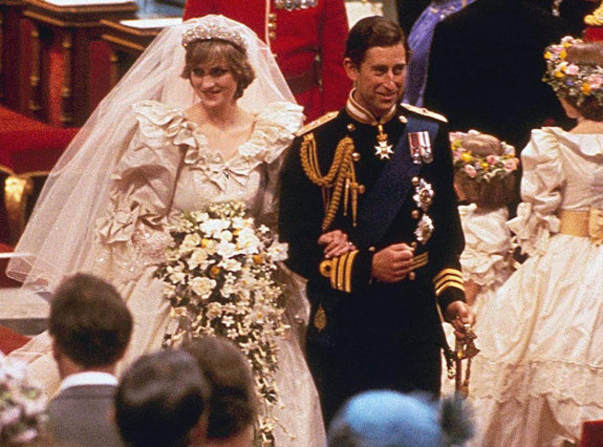 Royal weddings from around the world Princess diana