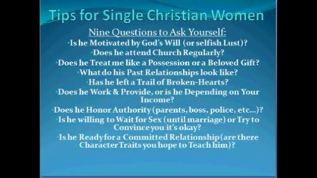 dating advice for christian singles Continuing in the vein i started the other day while we are in the season of lent of offering specific tips for christian singles (applicable for catholic singles as well), yes, it can.