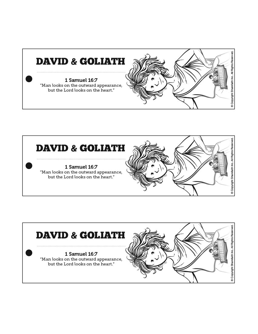david and goliath bible bookmarks after your david and goliath