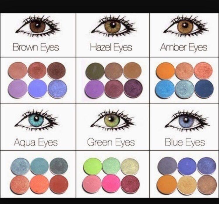 Match Your Eye Color Your Younique Makeup Pinterest Makeup