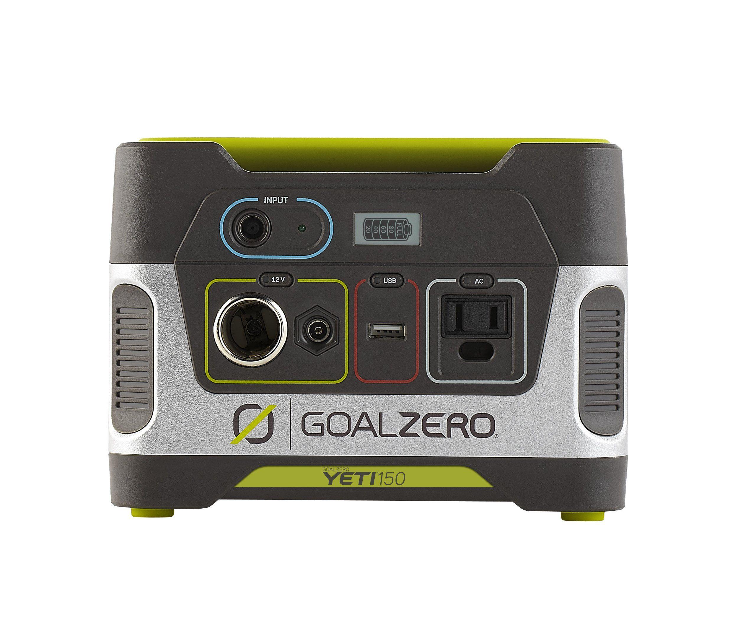 Amazon Com Goal Zero 22004 Yeti 150 Solar Generator Automotive Solar Powered Generator Solar Generator Best Solar Panels