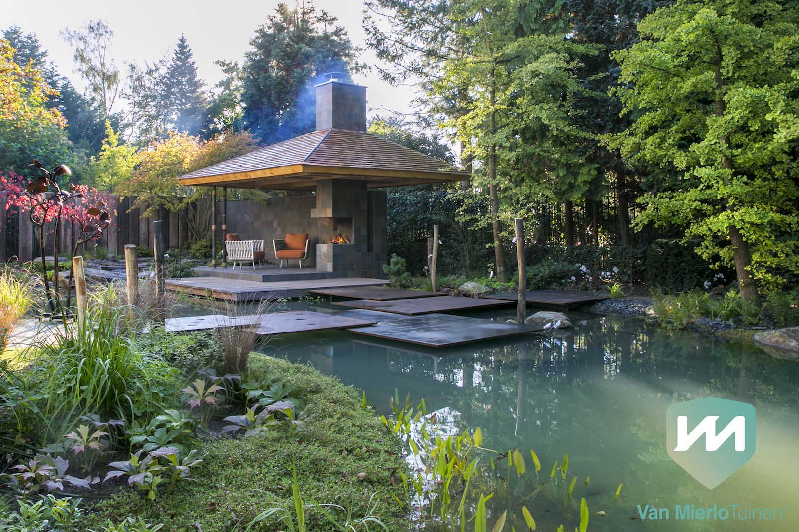 Van mierlo tuinen exclusieve japanse watertuin dutch wave