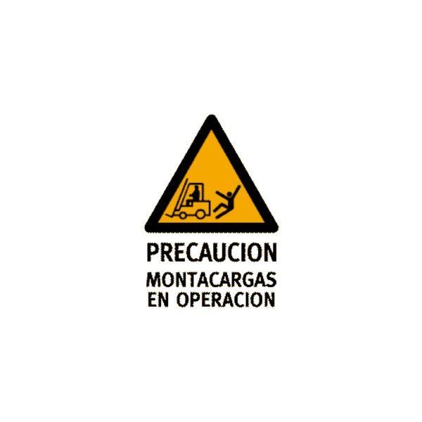 Montacargas en Operación