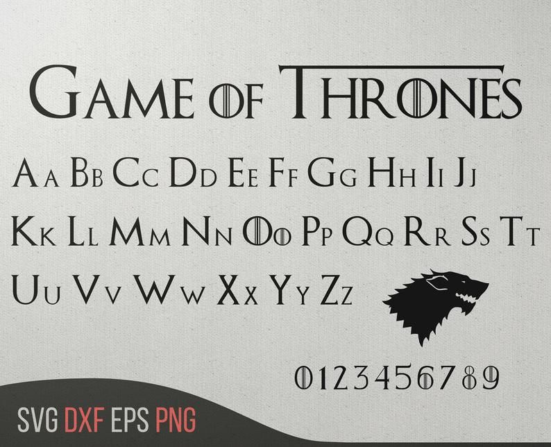 Font Svg Game Of Thrones Font Game Thrones Game Of Thrones Svg Jon Snow Game Of Thrones Gift Mother Of Dragons Monogram Font Download Game Of Thrones Svg Game Of Thrones