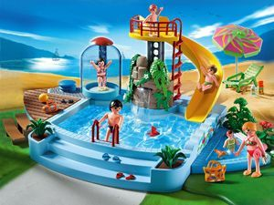 Playmobil Pool with Water Slide Review