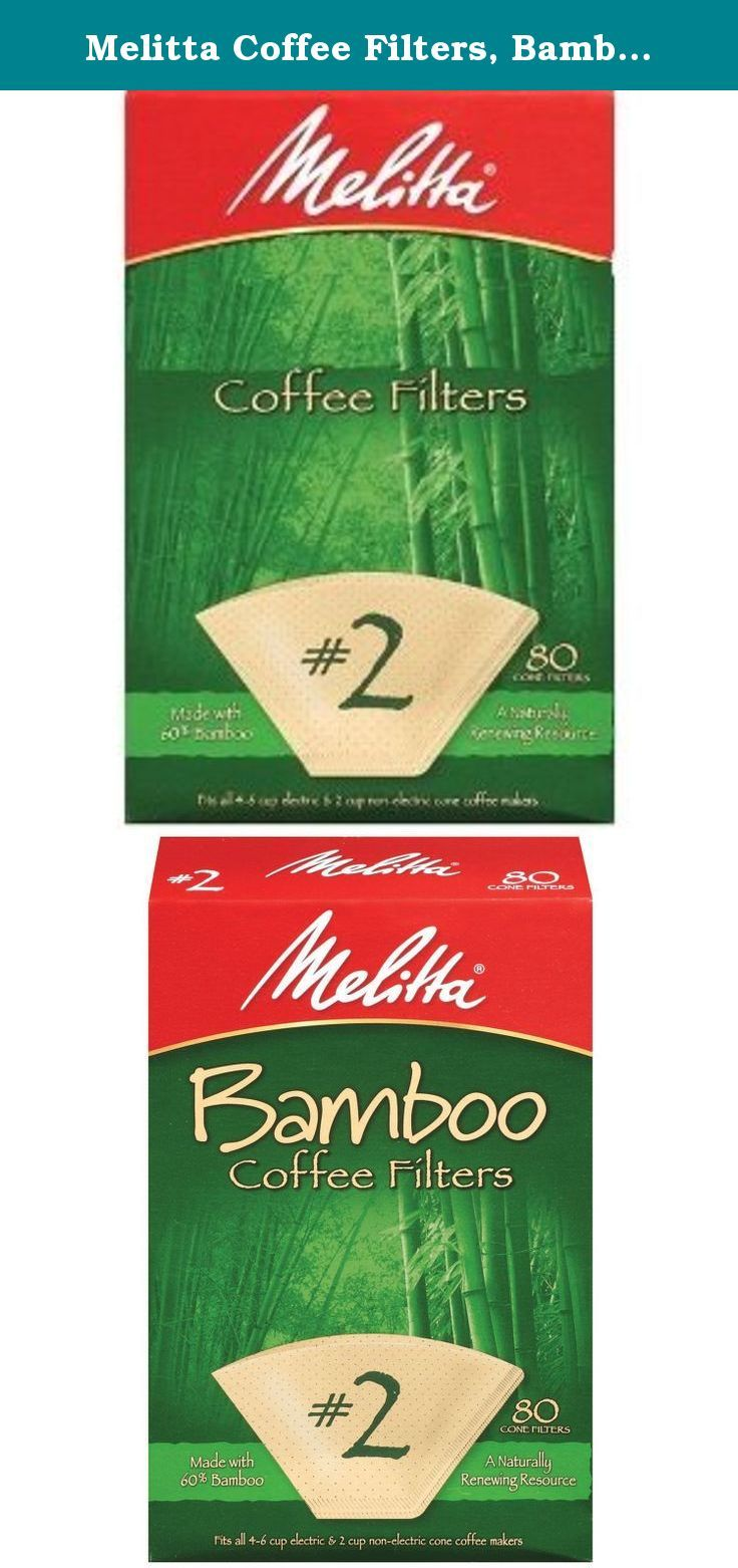 Melitta Coffee Filters, Bamboo, 2. Premium coffee filters
