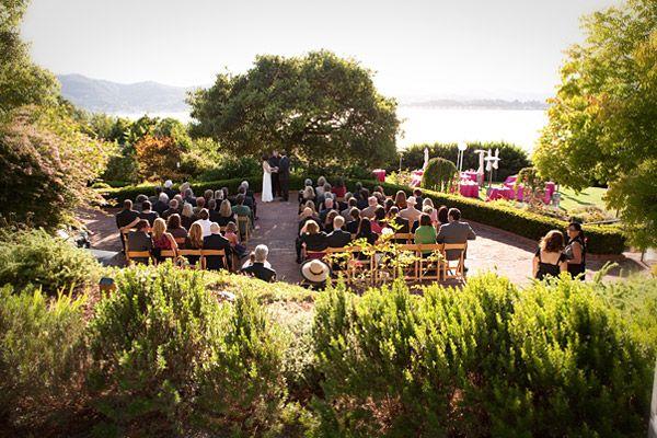 The Landmarks Art Garden Center Tiburon Marin County Wedding Site Bayareaweddingvenues