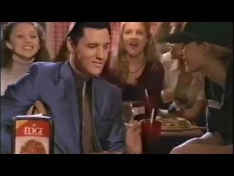 Pizza Hut, Elvis Presley dances , commercial