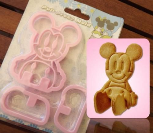 3d Sitting Mickey Mouse Cookie Cutter Biscuit Maker Cake Decoration Fondant Mold Mickey Mouse Cookies Mickey Mouse Cookie Cutter Cake Decorating