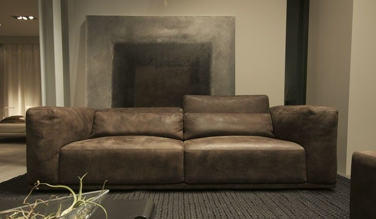 Contemporary Leather Sofa Nabucco By Stefano Conficconi Cierre Contemporary Leather Sofa Sofa Design Living Room Sets Furniture
