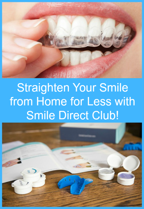 Straighten Your Smile From Home For Less With Smile Direct Club
