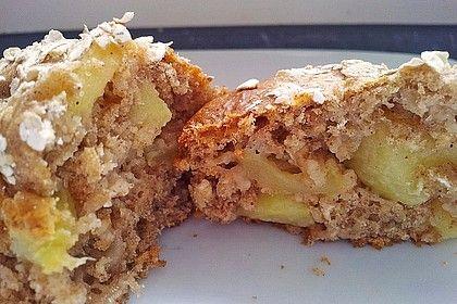 Leichte Apfel-Muffins mit Haferflocken und Zimt | Chefkoch