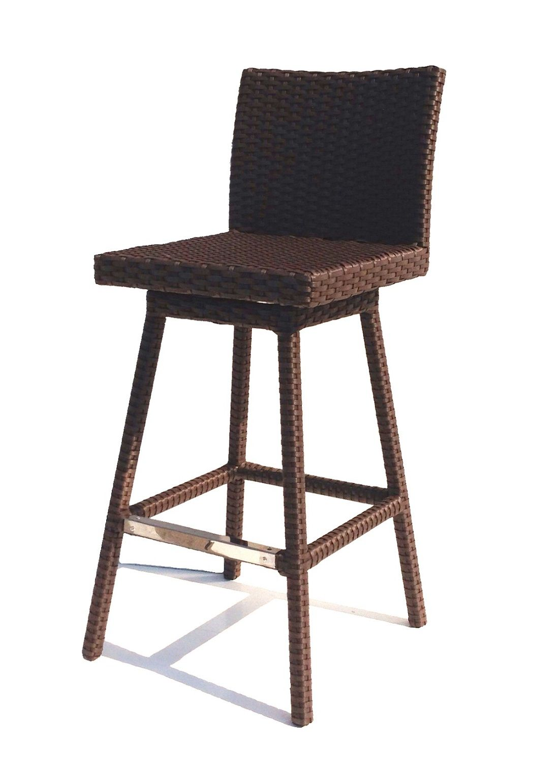 outdoor swivel bar stools Sonoma Outdoor Wicker Swivel Barstool | Pinterest | Footrest  outdoor swivel bar stools