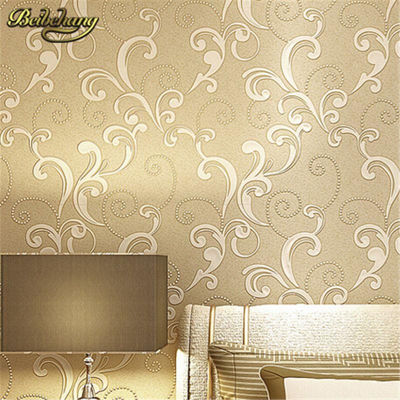 beibehang papel de parede. Modern Embossed 3d Wallpaper Textured ...