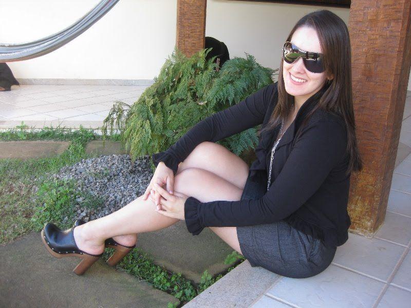 woman wearing sexy mules high heels