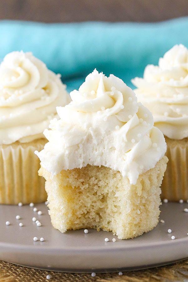 Fluffy Moist Vanilla Cupcakes Recipe Recipe Easy Cupcake Recipes Vanilla Cupcake Recipe Moist Vanilla Cupcakes