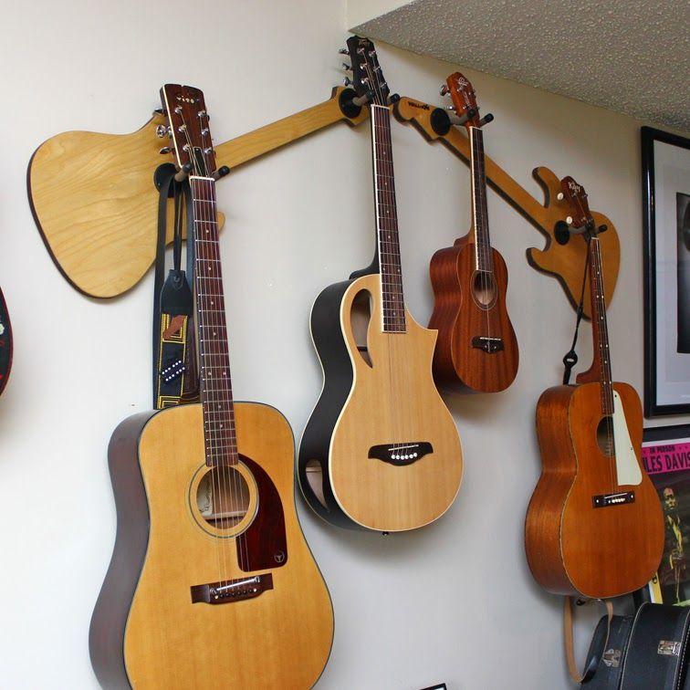Wall Axe Custom Guitar Hangers Support Guitare Et Guitare