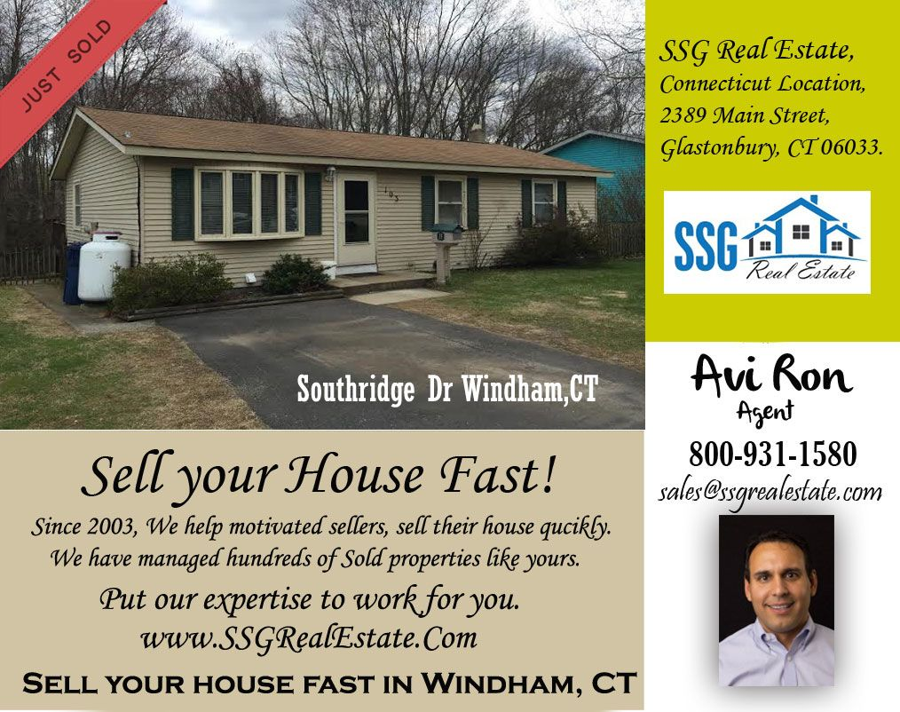 Just sold a property in southridgedrwindhamct if you