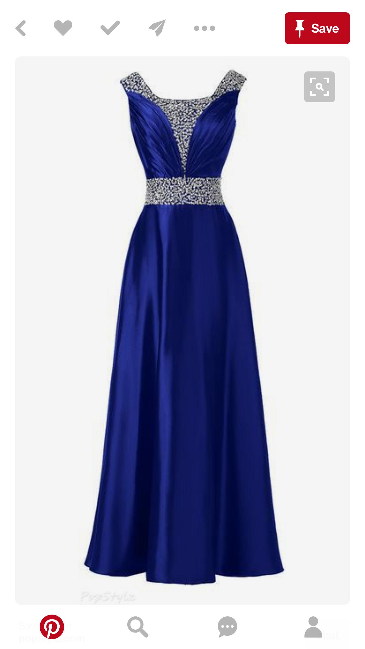 21c636c933f8 Prom Dresses Blue, Homecoming Dresses, Pretty Dresses, Strapless Dress  Formal, Wedding Dresses