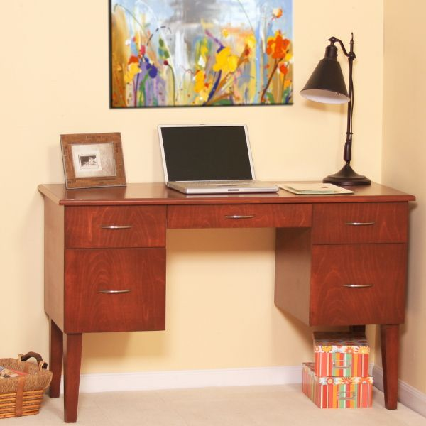 Gothic Cabinet Craft   Mid Century Modern Writing Desk, $439.00 (http://