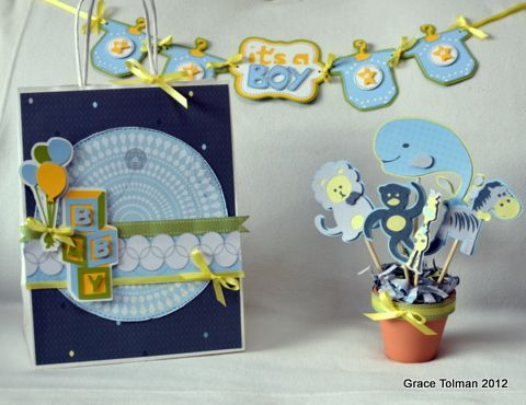 Baby Shower Decoration Projects Using Cricut® from Creative Memories (by Grace Tolman).   http://www.creativememories.com/Content/Shop/Catalog.aspx?pr=BrowseCategory=/Hierarchy/Paper%20Scrapbooking/Tools/Cricut%20Products=Shop=