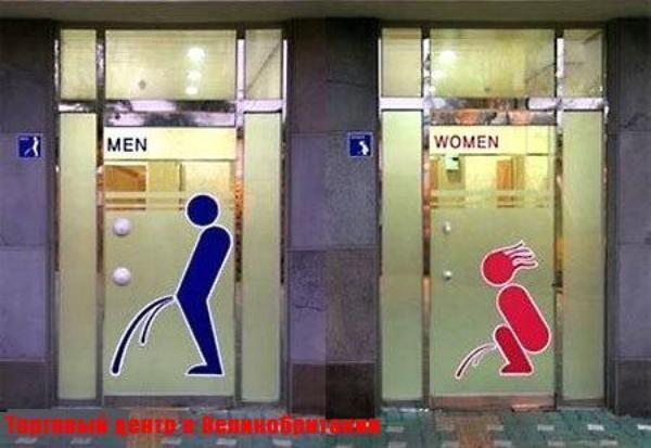 Вывески 'М' - 'Ж' в разных странах (49 фото) | Туалетный ...