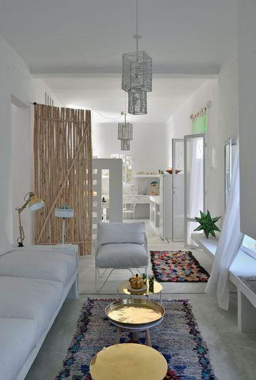 Décoration salon blanc  les plus belles photos Maisons Côté Sud - decoration salle salon maison