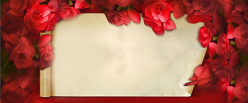 Rose Valentine Red Gift Card Background In 2020 Rose Background