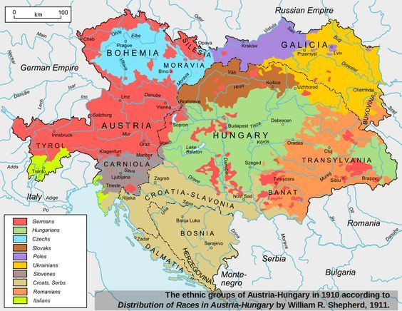 Austria hungary twilight of a new era austria alternate history this map shows the ethnic divisions of the austro hungarian empire as of 1910 gumiabroncs Image collections