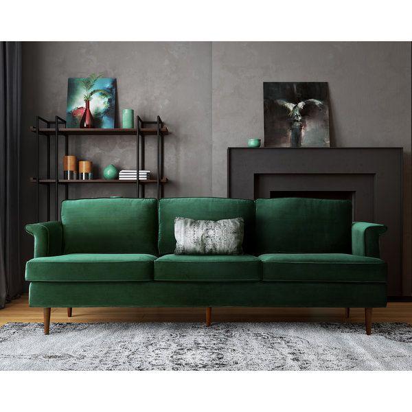 Porter Forest Green Sofa | Homemaking - Living | Green velvet sofa ...