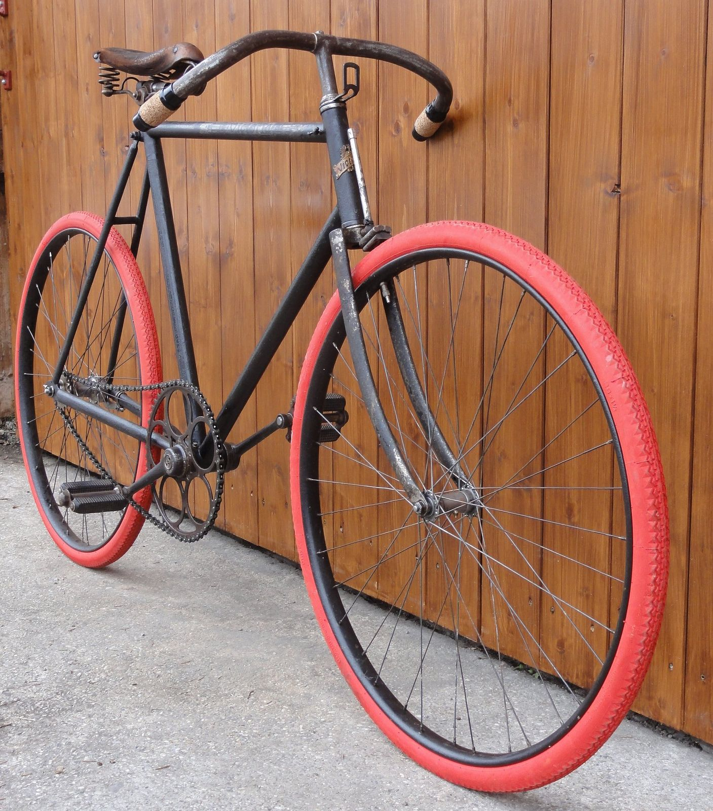 1906 Victoria Retro Bicycle Vintage Racing Bike Bike Restoration
